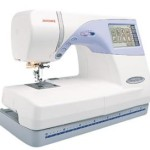 Janome MC-9500 Combo Embroidery & Sewing Machine