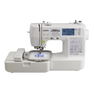 Project Runway Brother LB6800PRW Computerized Embroidery and Sewing Machine