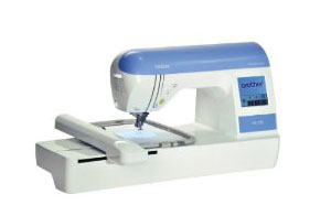 Image of Brother PE-770 Embroidery Machine with USB Memory Stick Compatibility