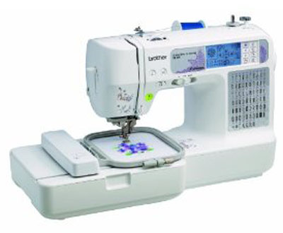 Brother SE-400 Sewing and Embroidery Machine