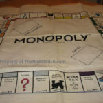 Counted Cross Stitch - Monopoly Game Project